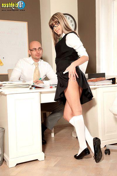 Schoolgirl gina gerson anal sex photos with teacher