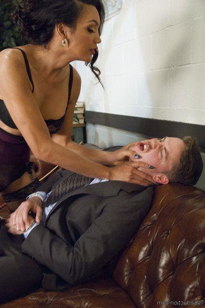 Dark hole office head lucas knight thinks his secretary got him a hooker...what he