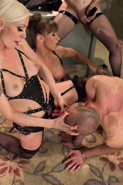 4 sweet prostitutes seize the local jail and capture the inexpert rookie cop. hot,