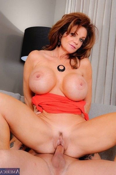 Horny titted milf getting fucking delight