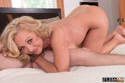 Mature woman cali houston assfucked for principal time