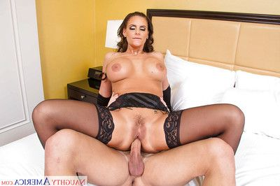 Kinky MILF Phoenix Marie taking tongue, toys and major dick in filthy asshole