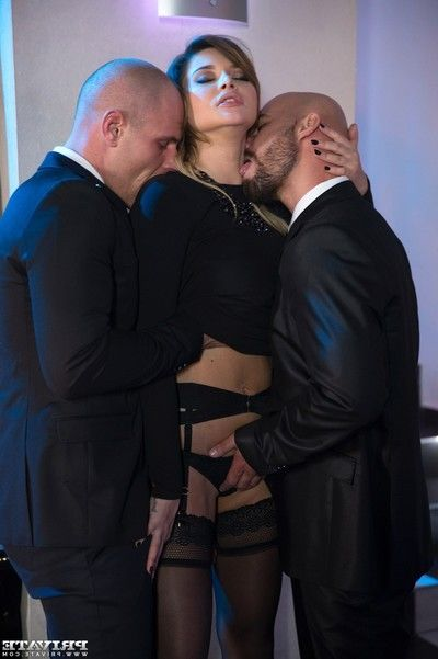Rough dp for perky russian whore anna polina in threesome fucking action pi