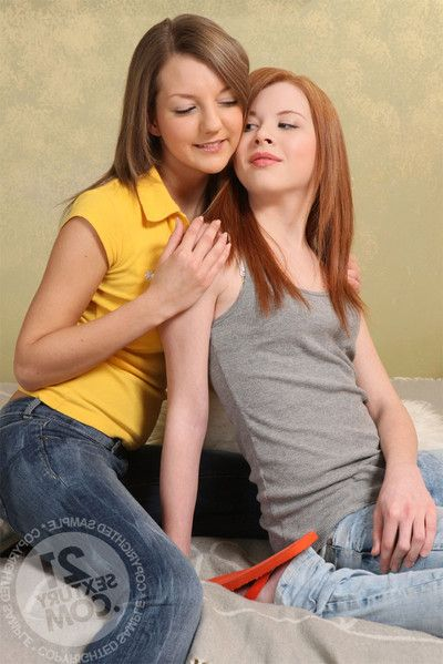 Lezcuties expecting you with solely legal anal addict female-on-female teens. don