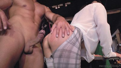 Valentina bianco is a sexually aroused anal piggy and satrina shames this whore all around