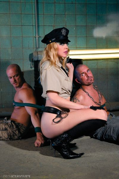 Sexy cop annette schwarz 2 owned by prisoners