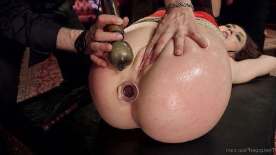 Shy and proper southern belle is trained by colossal gazoo anal slave mandy muse in h