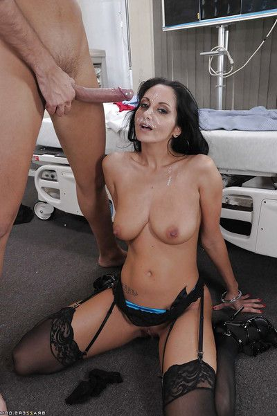 Horny MILF in doctor uniform Ava Addams gets her asshole owned hardcore