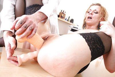 European office slut Anita Vixen gets owned by her fascinating boss