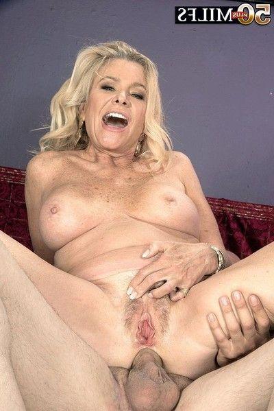 56yearold blond divorcee loses anal virginity