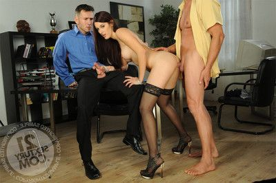 Hardcore two penetration anal sex, king quality two ass smoking and high r