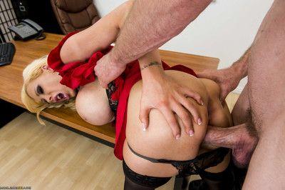Hawt blond milf lady getting nailed