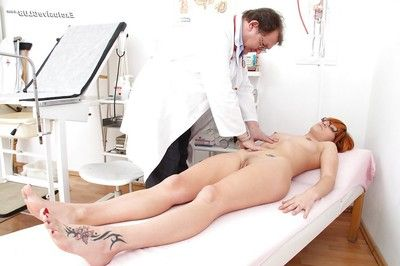 Lucy Bell adores visiting gyno