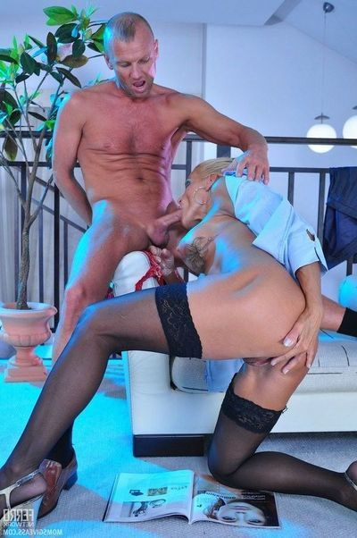 Anal full-grown fucking action with lady hotshot
