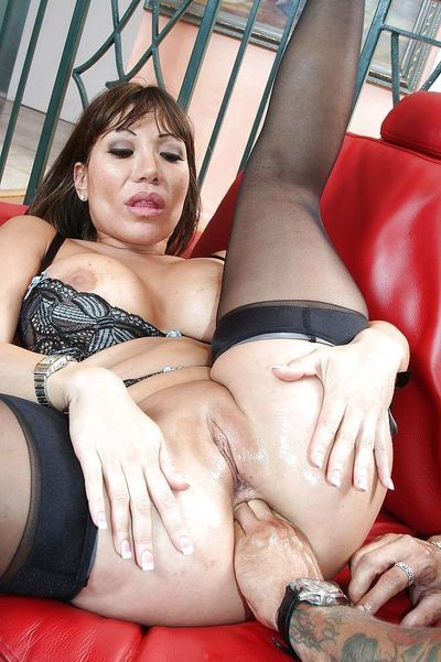 Lewd MILF Ava Devine has some anal fist-fucking and fucking getting pleasure with a hung boy
