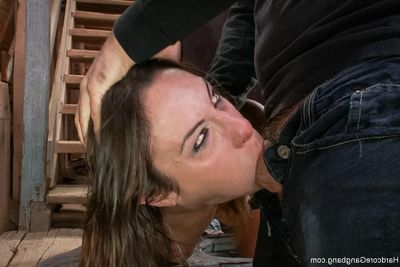 Anal courtesan amber rayne takes two dongs in her ass!