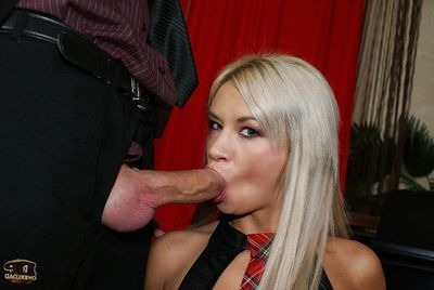 Milf cowgirl Lyanna enjoys anal once in a time penetration in a MMF groupsex