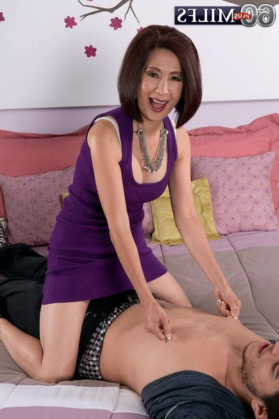 Mature oriental kim anh fucked in pussy and asshole