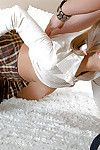 Lusty infant Brenda P gains her unyielding backdoor stuffed with a giant knob