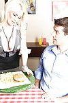 Clammy MILF in office uniform Diamond Foxxx takes vast anal action