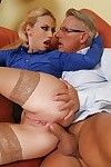 Muddy blond Jessie Volt accepts her anal opening fingered and penetrated hardcore