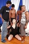 Largest swarthy fuckers are discipline lascivious fairy-haired Jennie in her anal