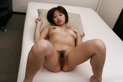 Shy eastern MILF Rika Okabe has some mouth job joy subsequently bathroom