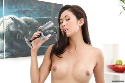Japanese obsession sample Davon Kim drinking own pee later urtication adores cup