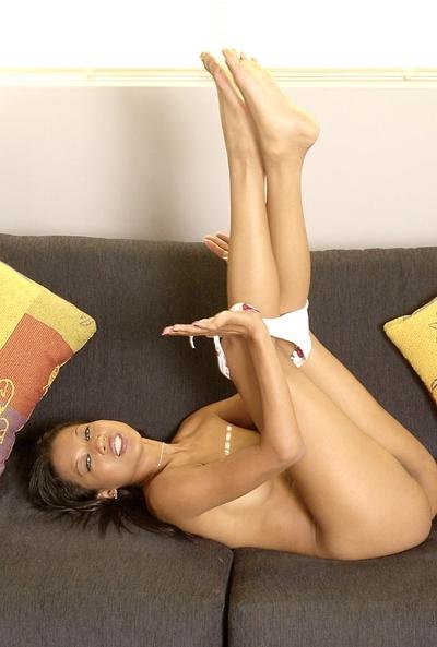 Lili Thai shows her milf Eastern anus in a hawt yellow bikini clothing