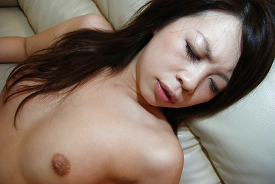 Chinese young Ai Kawahara positions in extreme underware and gains her vagina vibed