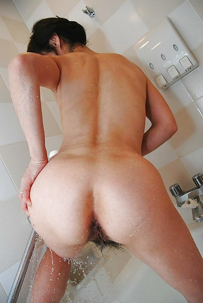 Chinese MILF with curly wet crack and compact billibongs Mayumi Miyazaki grand washroom