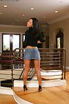 Eastern milf Tia Ling takes part in an adolescent undressing scene