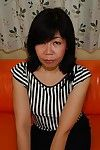 Massive melons Eastern milf RuRiko Hirai stretches her legs wide easy to get