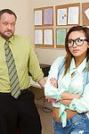 Super damp Oriental wench Alina Li is being penetrated massive by her boy