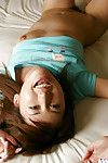 Alluring Chinese hottie Nanami Wakase uncovering her milk shakes and unshaven bawdy cleft