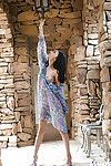 Lovely Chinese coed Aino Kishi ucovering her graceful body