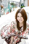 Smiley eastern chicito Tatsumi Yui indolently erotic dance off her