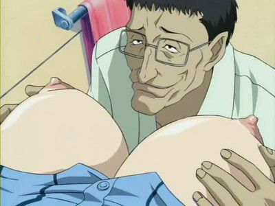 Dirty anime with chick forced to jump pecker