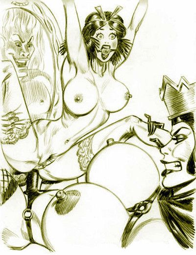 Snow-white porn drawings