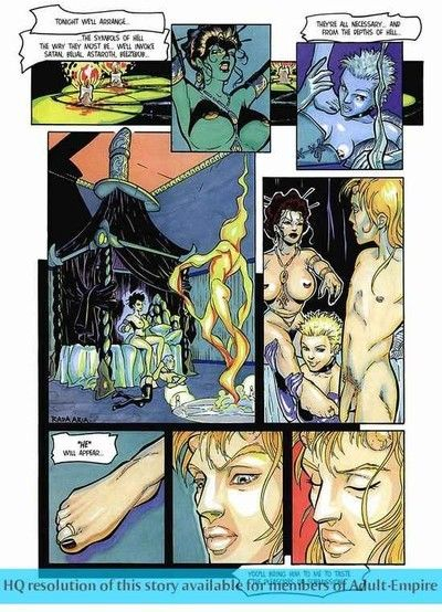 Porn comics with perspired playgirl being bonked severe