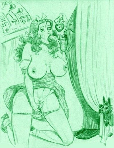 Dorothy porn cartoons