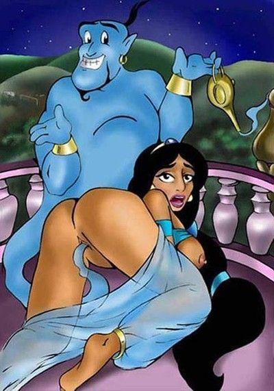 Jasmine porn caricatures