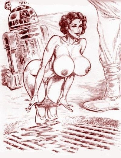 Star wars porn drawings