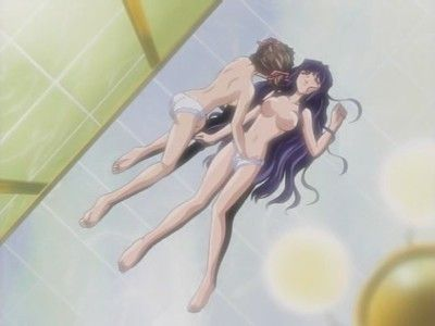 Hot anime with double playful gals pleasing each other