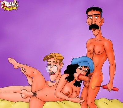 Assorted animated film chicos stripping. animated film women getting teamed