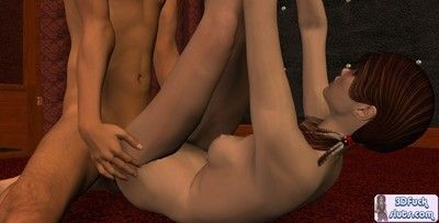 3d animations in hardcore sex deed