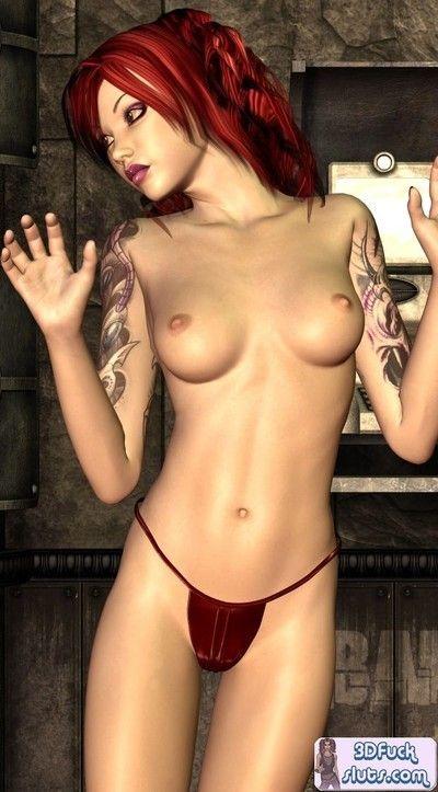 3d animated film redhead