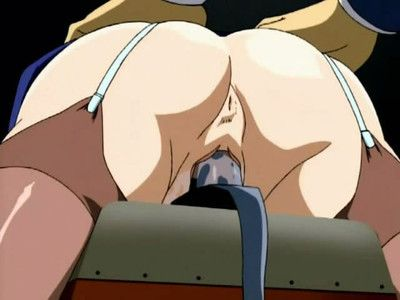 Animated twat take up with the tongue and anal fuck session