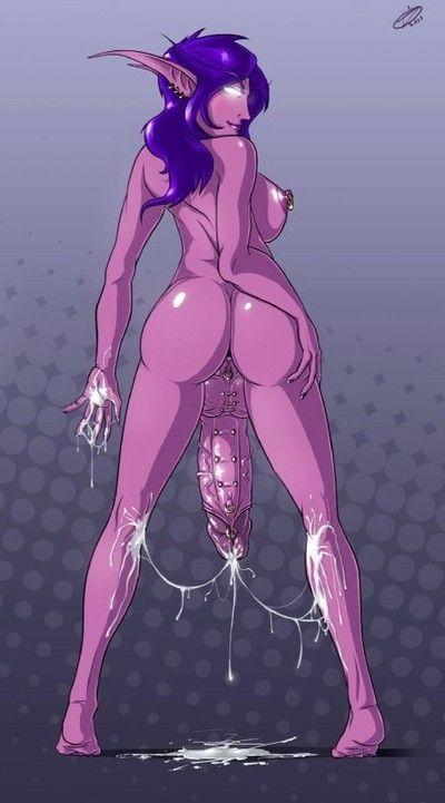 Futanari elf porn