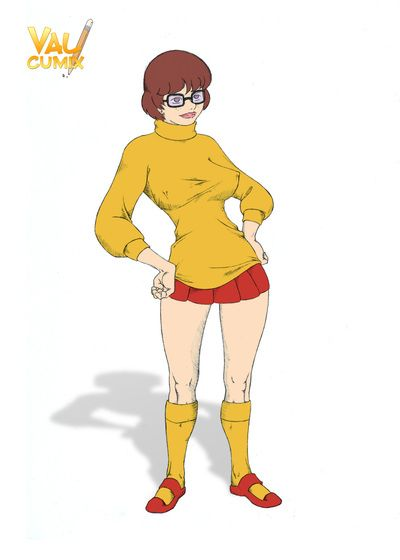 Comics - Velma Dinkley gets brutal anal and deepthroat fuck